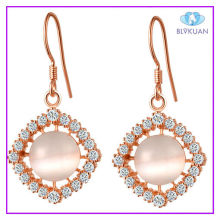 small crystal opal earrings fashion trend cheap