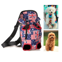Multi Color Front Pet Cat Dog Carrier Backpack Travel pet bag