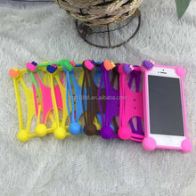 New Product Colorful Cheap Silicon Mobile Phone Case , Wholesale Fancy Cell Phone Case By Alibaba Site China Manufacturing