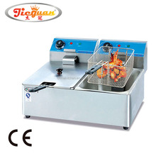 Commercial Electric Double Basket Deep Fat Fryer Machine DF-6L-2