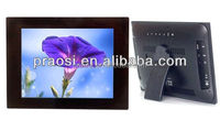 1024*600 for 10.4'' hot advertise LED digital photo frame with high definition multi-function MP3 vidio audio playback