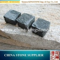 Chinese popular high quality cube granite paving stone in stock