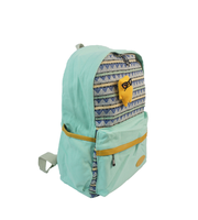 Store More Fashion Design Casual Canvas Blue Rucksack Bookbag