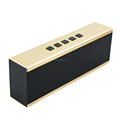 Long size gold bluetooth speaker