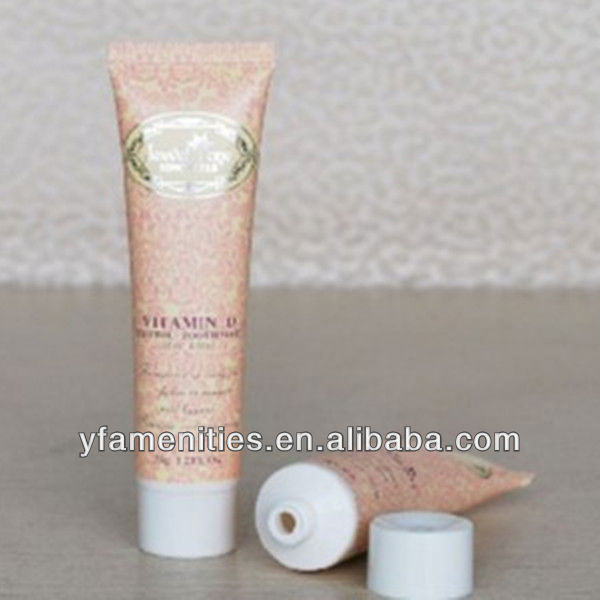 poster cosmetic plastic soft tube