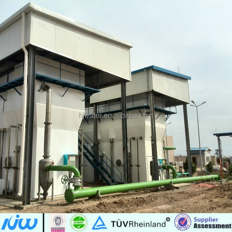 HJ-WT0444 water refilling station sale all in one surface water purification plant station