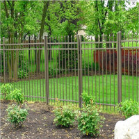 Fusion luxury standard playground fence