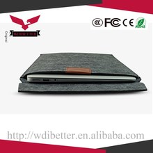 High End Book Pro Air Cover Universal For Mac Book Air Pro Leather Protect Sleeve
