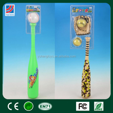 Plastic baseball bat for kids playing toys wholesale mini baseball bat