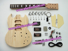 Afanti Music / Sg Style / 3 Pickups / DIY Electric Guitar Kit (ASG-617K)