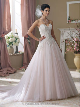 Top Quality China Factory Made French Lace Wedding Dresses vestidos de noiva