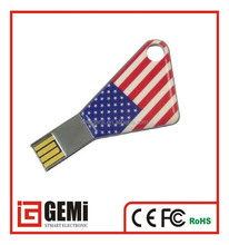 3D original design American national flag usb 2.0 driver flash
