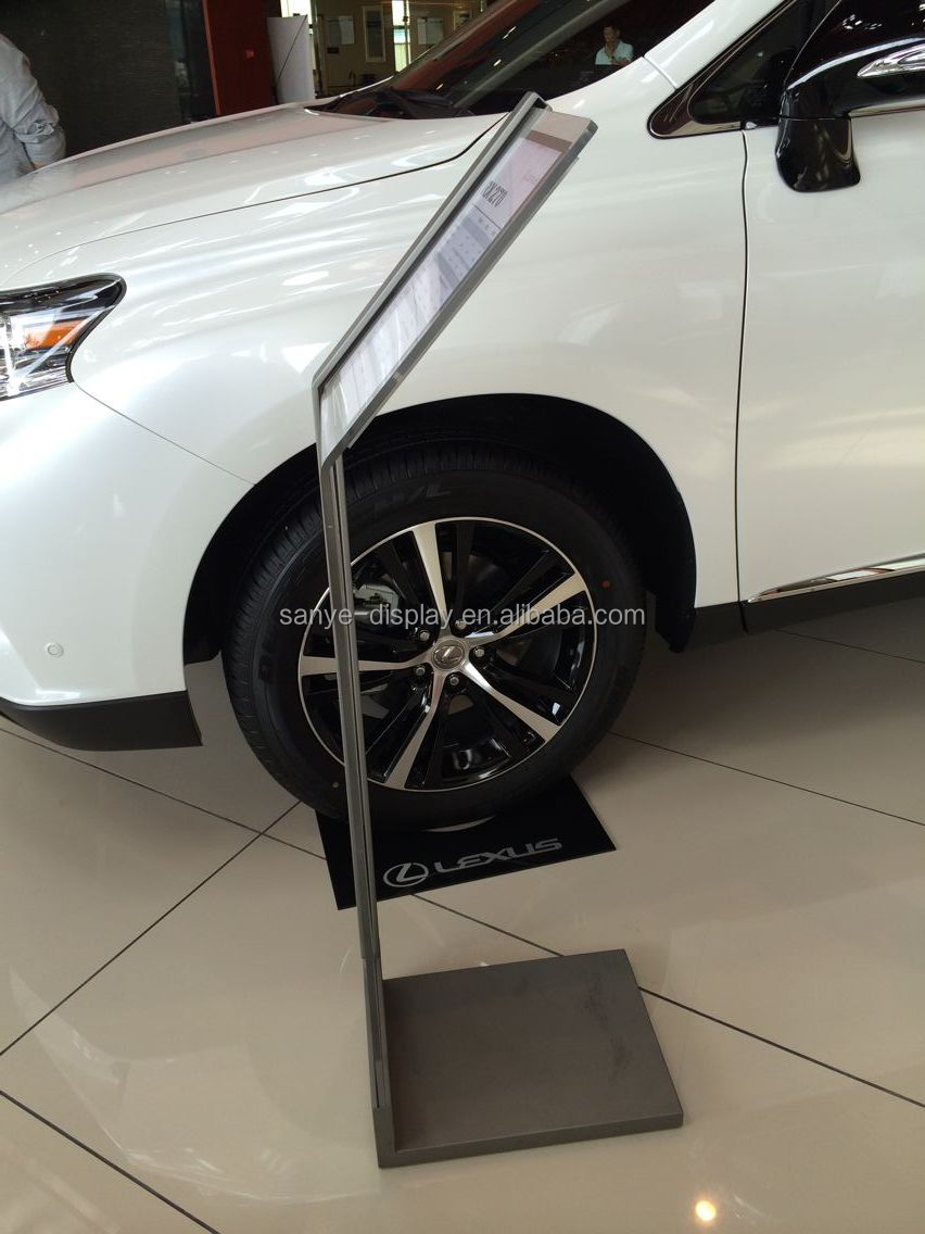 Led Display Car Wheel Led Display - Car show wheel display stands