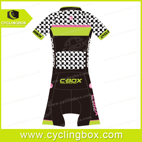 2015 CYCLINGBOX Custom short sleeve skinsuit