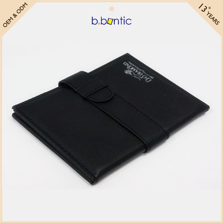 wholesale men PU leather card billfold wallet bag