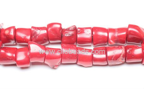 Branch Red Coral Beads