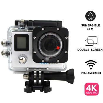 Ultra HD 4K action camara SPORTS CAM 170 degree wide Angle Sports Camera 2-inch dual Screen 1080p