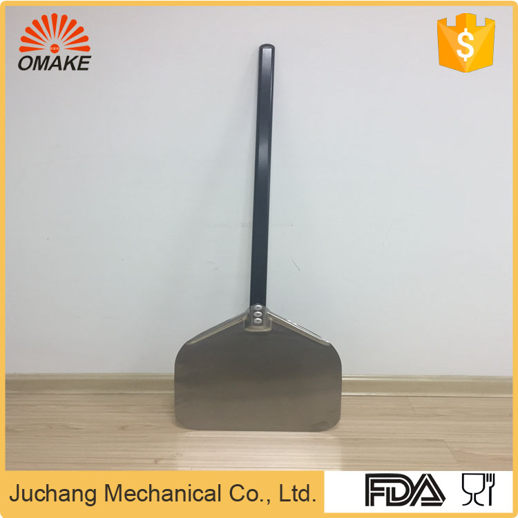 FDA Certified Custom Embossed folding pizza peel steel pizza peel pizza spade with high quality