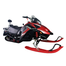 2018 150cc automatic hand-pull adults snowmobile