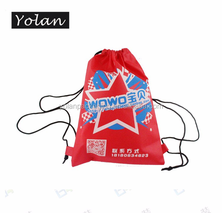 Top quality non woven drawstring bag non woven shoe bag manufacturer