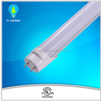 High lum 120lm/w UL cUL CSA certified Ra80 277~347V 2400mm t8 tube led tube shenzhen manufacturer