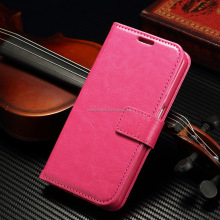 Retro Luxury Pull-up/Crazy horse leather case cover for meizu m3 note