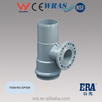ERA Brand ONE FAUCET ONE FLANGE ONE INSERT REGULAR TEE PVC FITTING