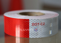 DOT-C2 China wholesale retro reflective tape for car reflective tape
