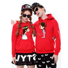 2017 Guangzhou oem cheap wholesale couple hoodie jacket/couple lover sweatshirt hoodies /hoodies printed