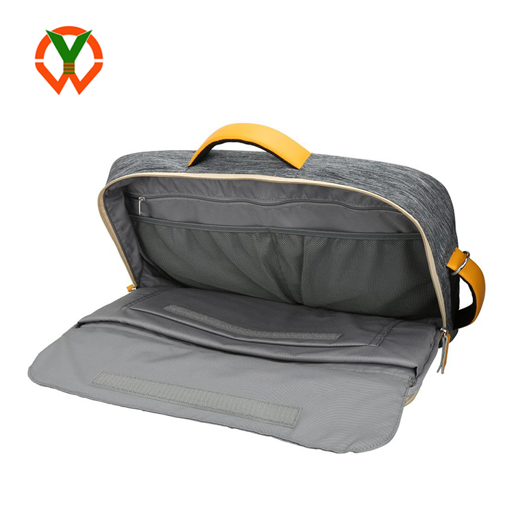 Large Size Electronics Devices Carrying Weather Resistant Laptop Messenger Bag (YCBU)