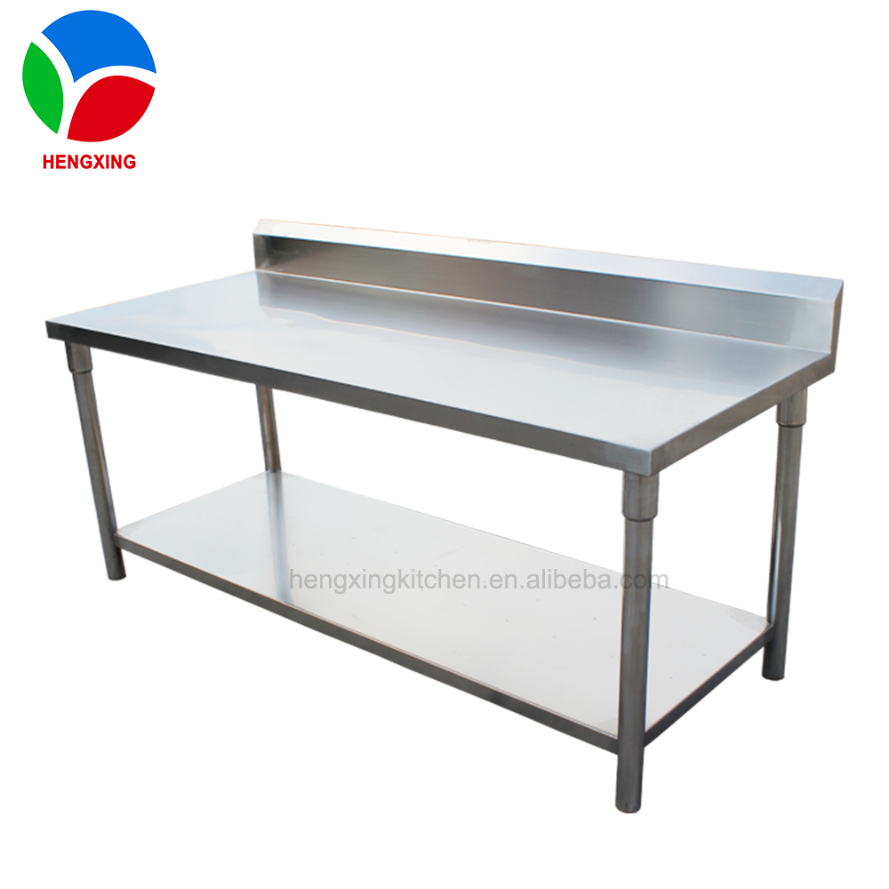 Used Stainless Steel Tables >> Commercial Kitchen Stainless Steel Working Table Metal Kitchen Work