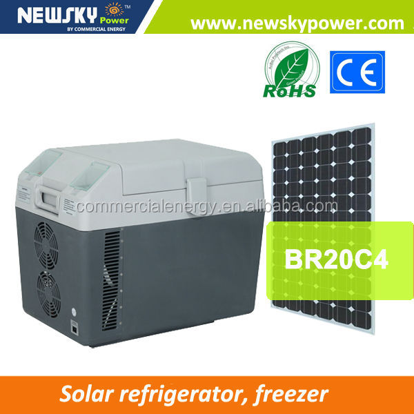 DC 12V portable car fridge freezer new design mini fridge solar powered portable refrigerator