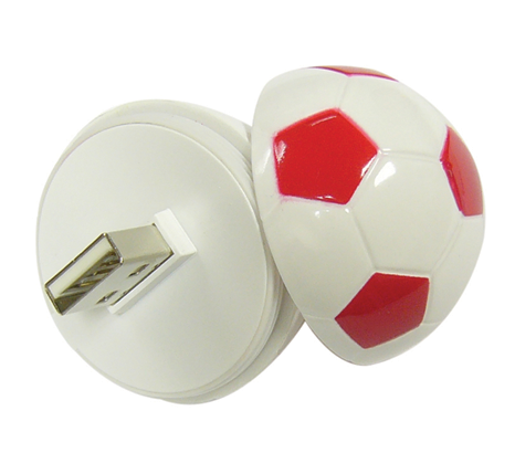 football usb flash drive for gift