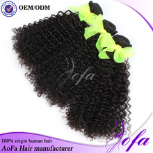 2016 hotsale unprocessed natural color brazilian human hair wet and wavy weave