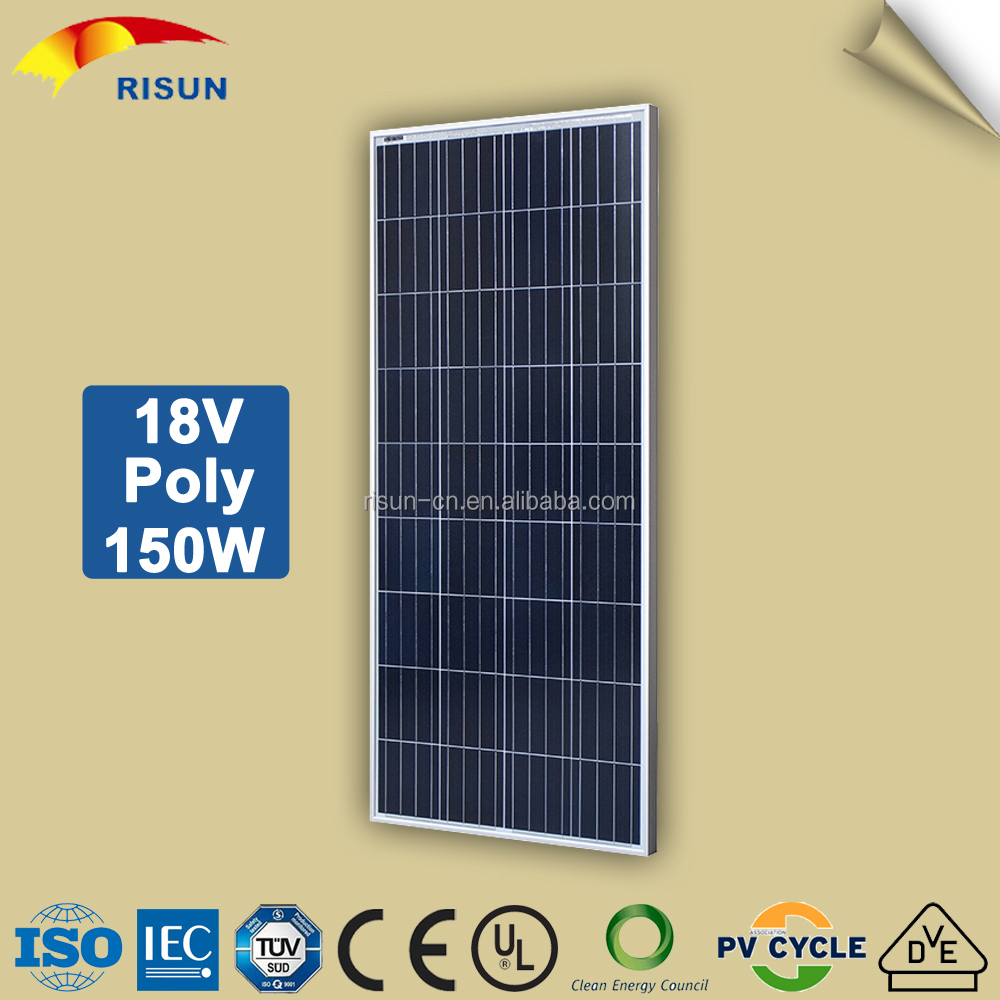 China Direct 150 Watt Poly Solar Panel Price in Pakistan with Photo