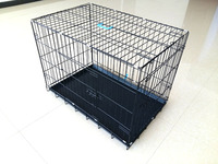 "18"" 24"" 30"" 36"" 42"" 48"" 52"" factory Wholesale Stainless Steel large Dog Cage"