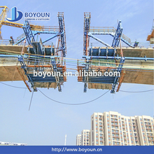 Concrete Bridge Construction Project Quality Recycable Steel Formwork Traveler