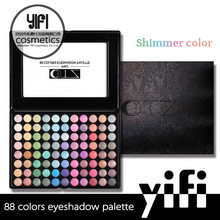Top quantity cosmetics TZ 88 shimmer colors new clear lid eyeshadow palette