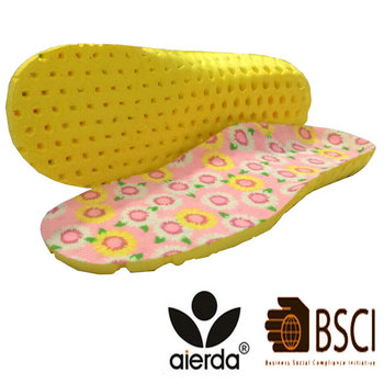 Wholesale Foot Arch Support Breathable Shoe EVA Kids Insole