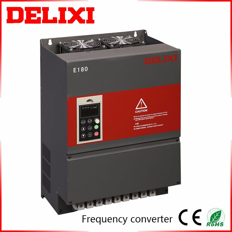 DELIXI CDI-E180G3R7T2B Triple Phase Single Phase Multiple Protection Functions Omron Frequency Inverter