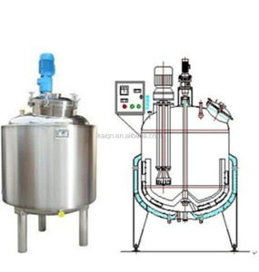 Liquid Soap Making Machine Mixing Tank Heating Tank