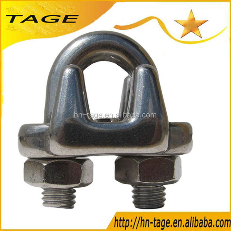 Hot Selling US Type Malleable Galvanized Wire rope Clip