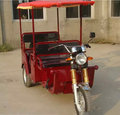 electric tricycle used/ reasonable price /piaggio three wheelers/made in china
