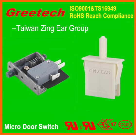Magnetic door contact switch switch for cabinet door for 120 volt magnetic door switch