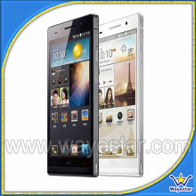 Hot Selling Ultra Thin Quad Core MTK6589t 1.5Ghz P6 6.0 IPS 8.0Mp 3G GPS Android 4.2 Smart Phone