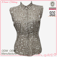 New arrival fashionable ready to wear lady blouse korean style 2013