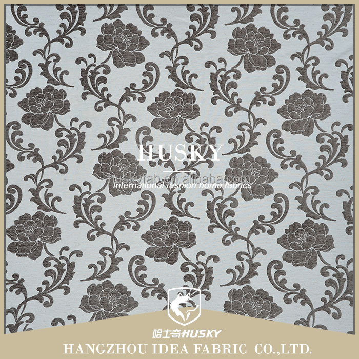 Hotel curtain fabric islamic jacquard fabric