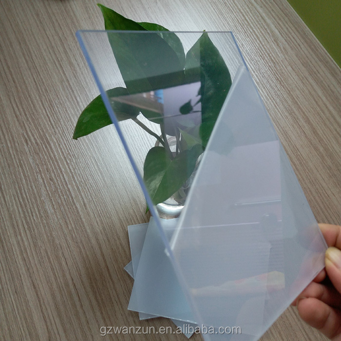 1mm 4feet x 8feet transparent printable rigid pvc lamination <strong>sheet</strong>