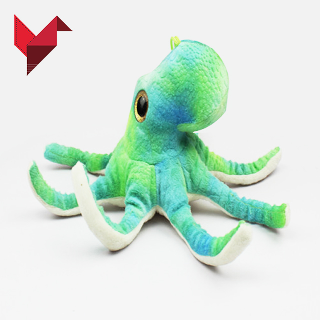 hot-selling design your own pink & blue octopus plush toy
