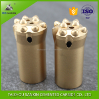 taizhou Gangxin Brand tungsten carbide button rock drill bits/drill button bits for mining